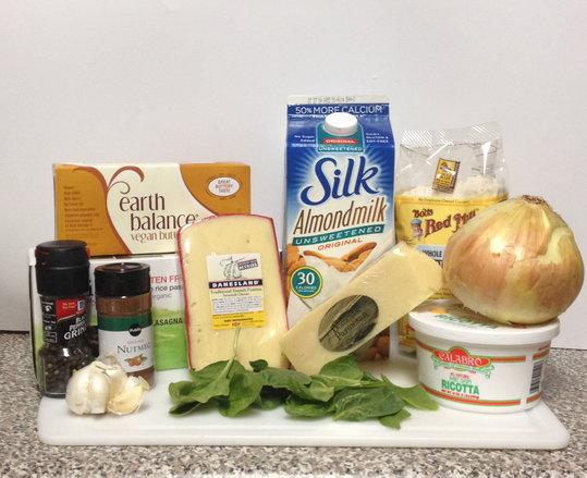 White Lasagna Ingredients