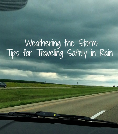 Tips for Traveling Safely in Rain