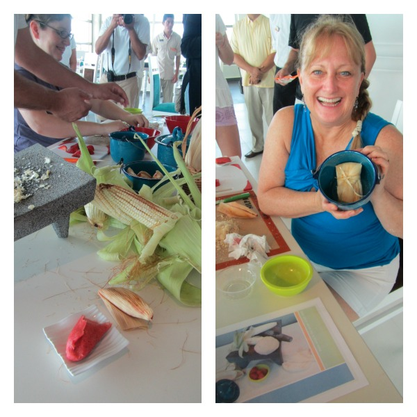 Tamale cooking class for kids
