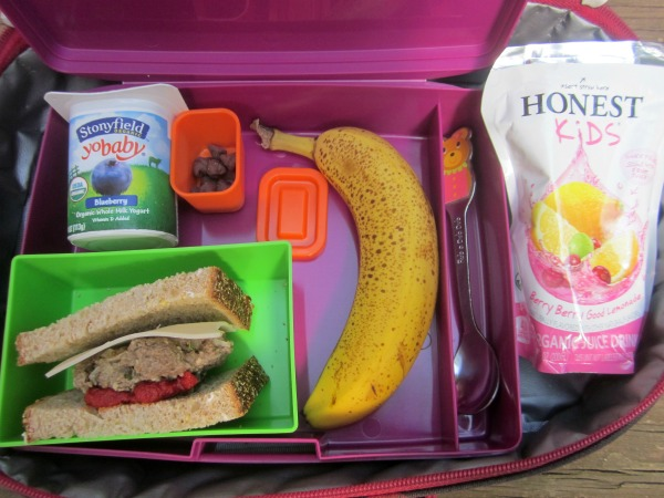 easy healthy lunchbox idea
