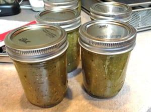 Homemade Green Chili Sauce