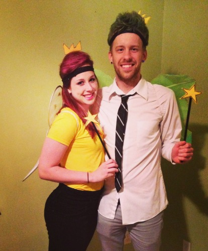 DIY Halloween Costumes- Fairly Odd Parents Couples Halloween Costume