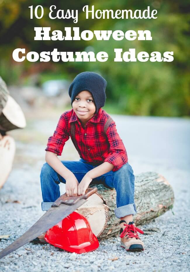 Easy Homemade Halloween Costumes Family Focus Blog