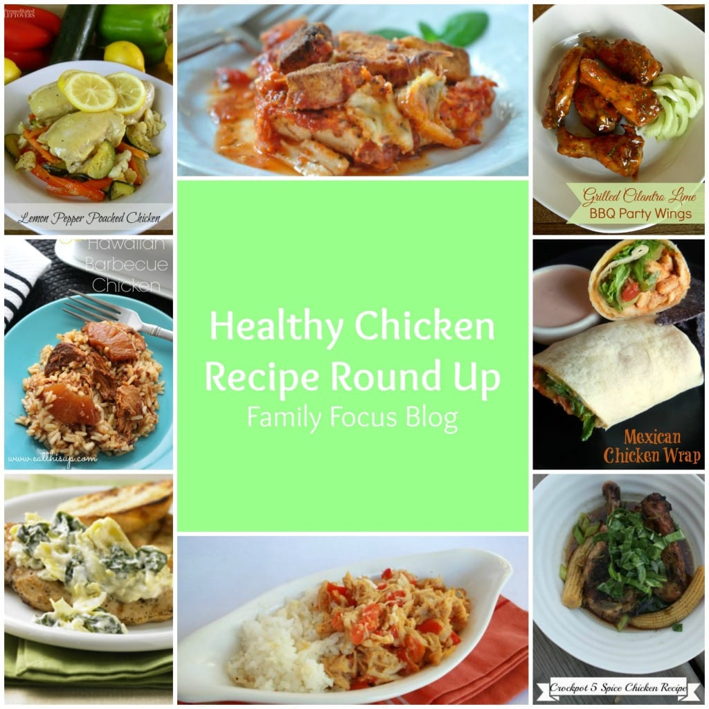 8 Healthy Chicken Recipes Your Family Will Love