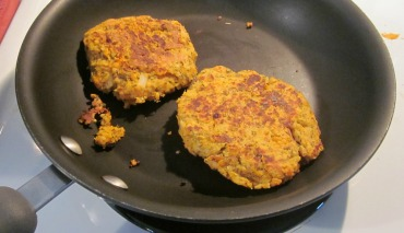 sweet potato and couscous patties