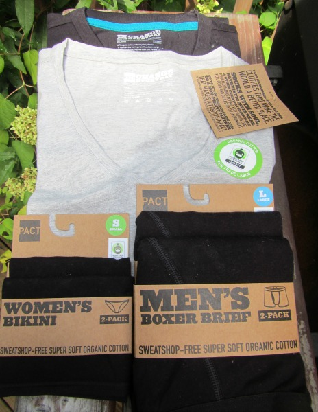PACT organic cotton basics