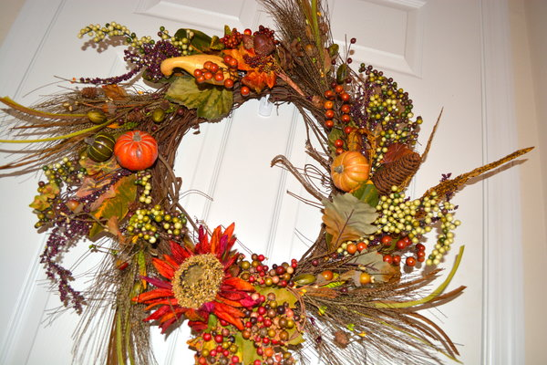 DIY Autumn Wreath