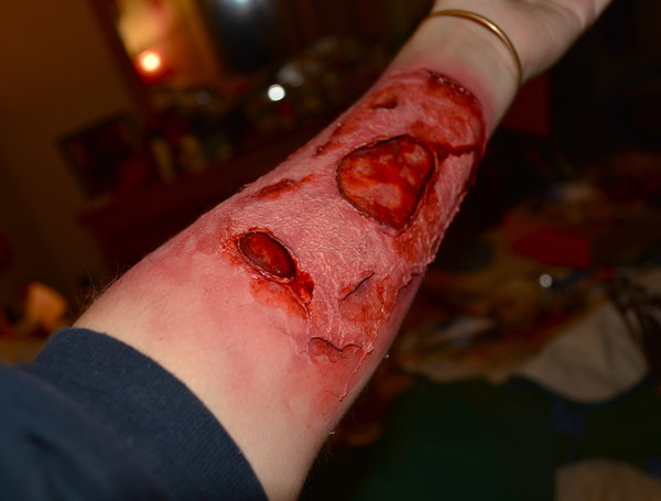 FX Wound and Burn Makeup