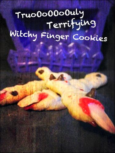 Witch Finger Halloween Cookies Recipe