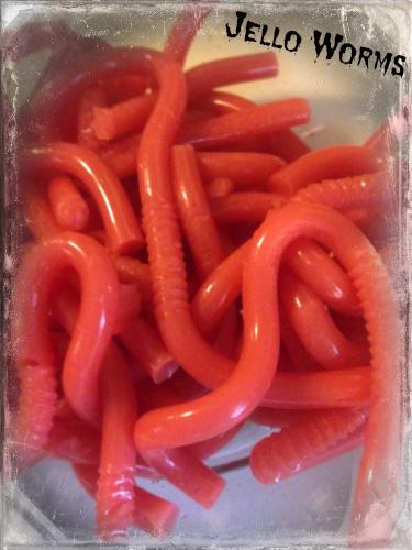 jello worms recipe