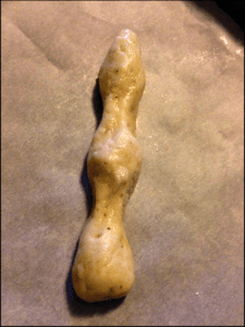 witch finger halloween cookie dough