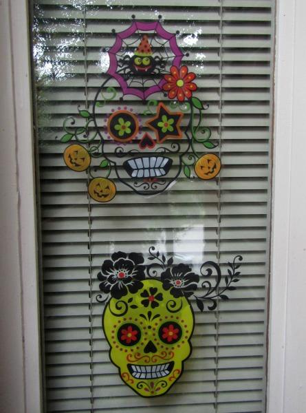 Halloween decoration ideas- window clings