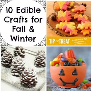 edible crafts for fall