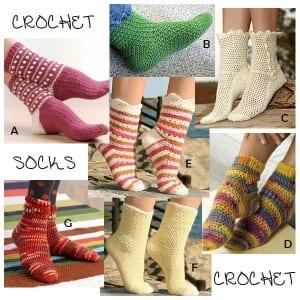 crochet-socks