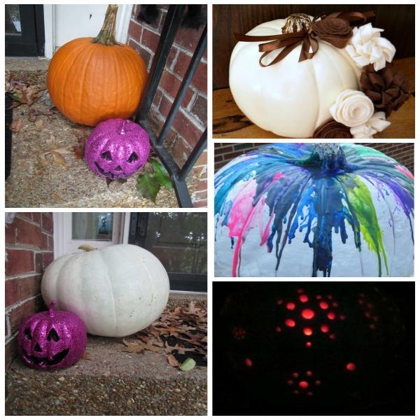 pumpkin Halloween decorating ideas