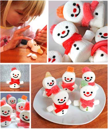 snowman-marshmallows