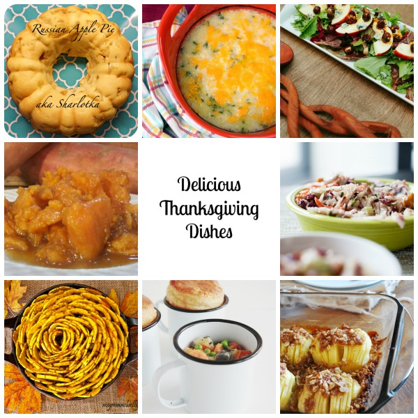 Delicious Thanksgiving Dishes