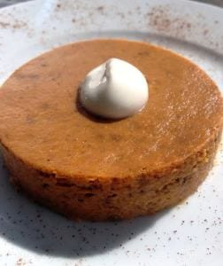 Naked Pumpkin Pie