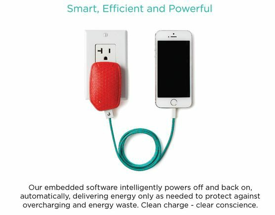 eco-friendly smartphone charger