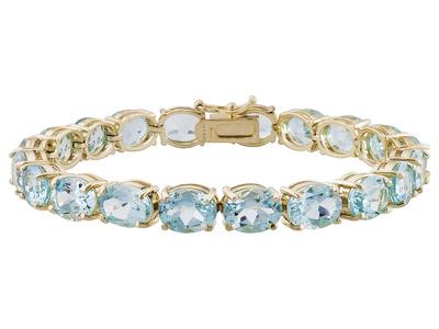 glacier topaz bracelet