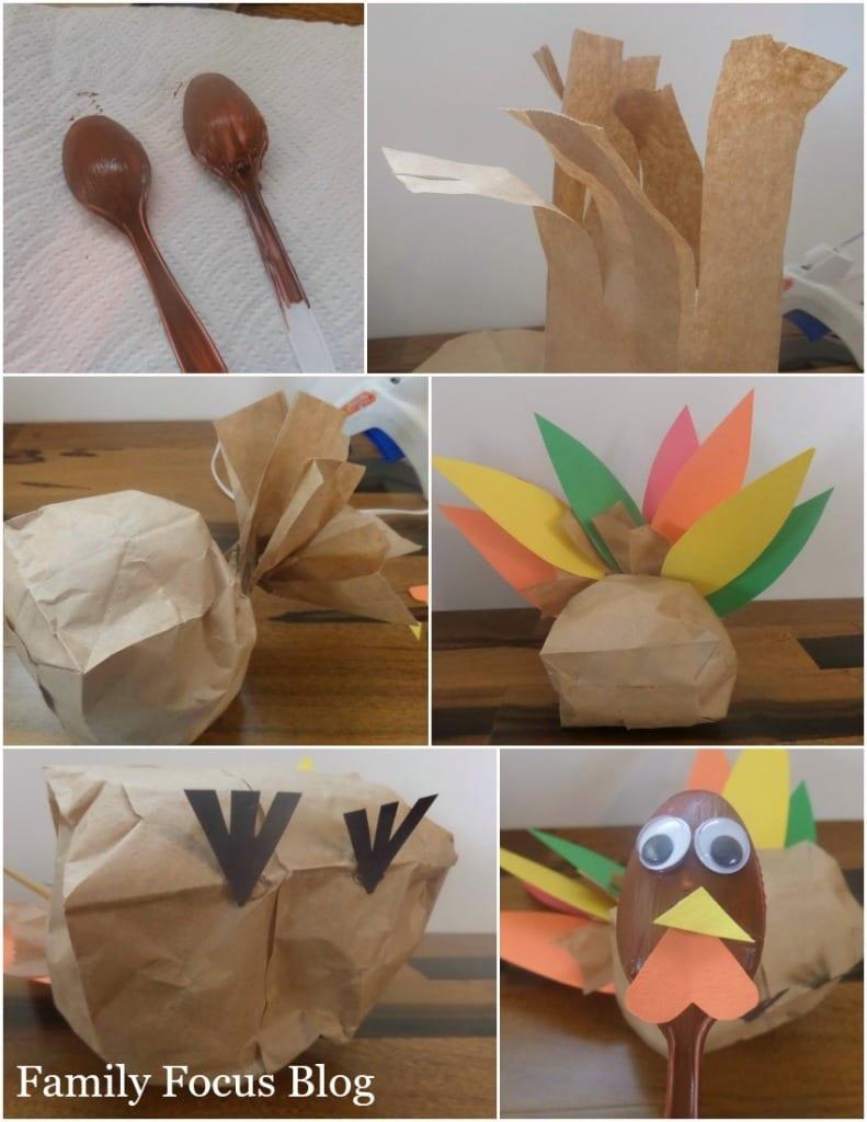 paper bag turkey process
