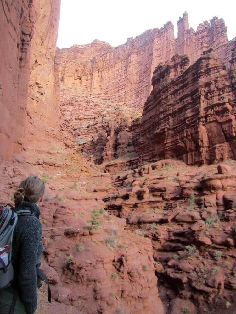 Fisher Towers Hike Utah