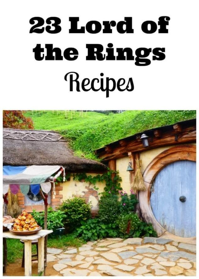 Lord of the Rings recipes