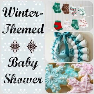 Winter Themed Baby Shower Ideas