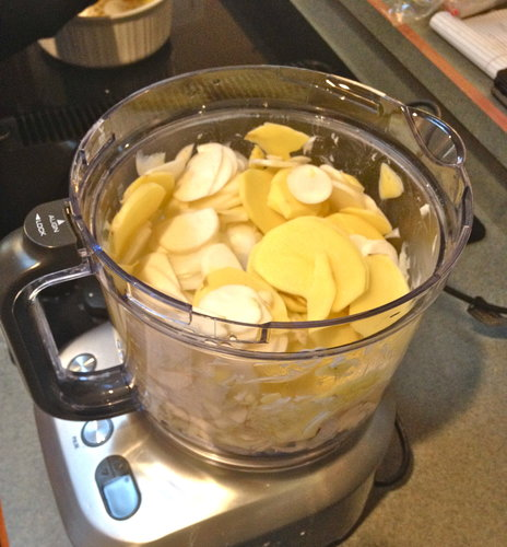 Turnip and Potato Casserole