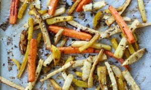 vegetable fries baked
