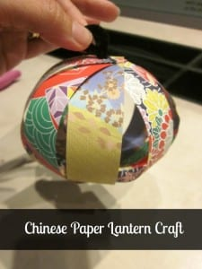 Chinese Paper Lantern Craft