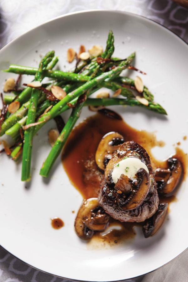 Filet Mignon Sherry Mushrooms Recipe