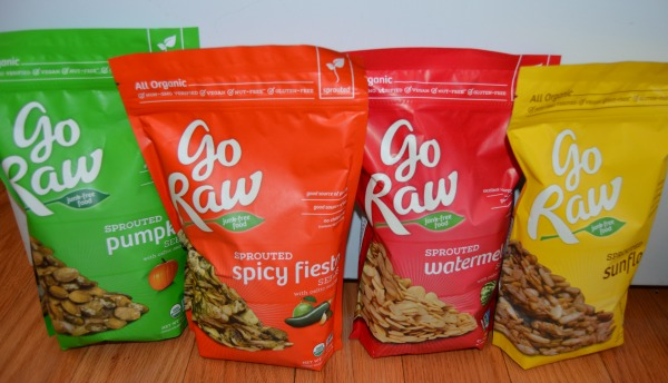 Raw Food Snacks- Go Raw Sprouted Seeds