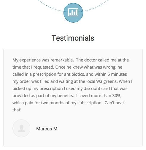 telehealth testimonial