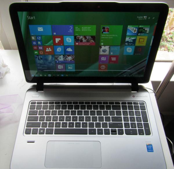 HP Envy 15T with Intel RealSense technology