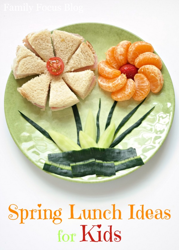 Spring Lunch Ideas for Kids