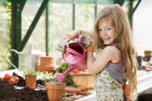 grow a garden kids
