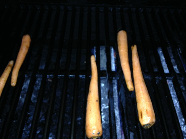 grilling in the dark