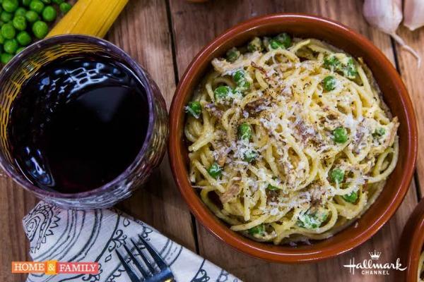 spaghetti carbonara recipe with pork belly