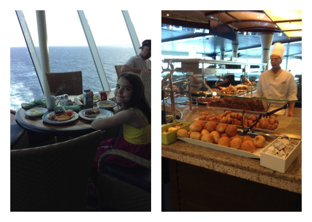 cruise breakfast