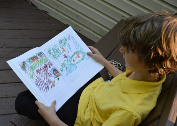inspire your child to write