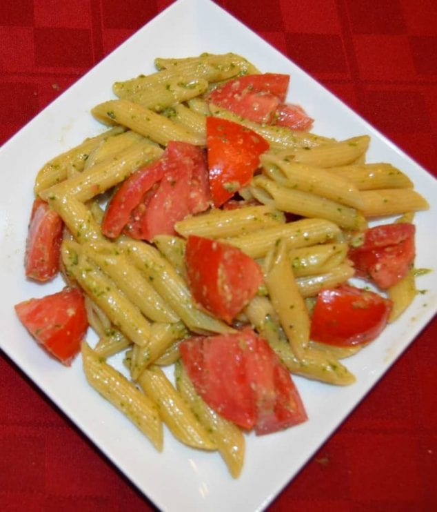 tomato pesto pasta recipe