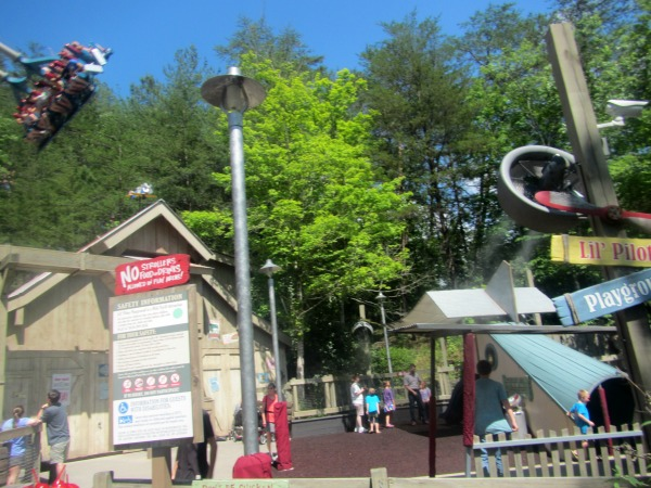 Barnstormer and Lil Playground Dollywood