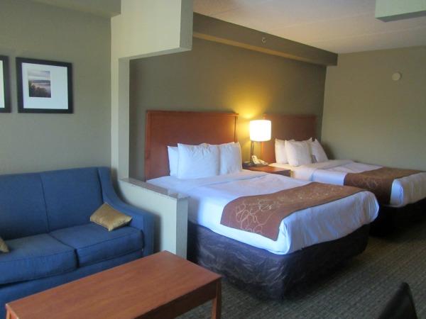 Comfort Suites Hotel Room