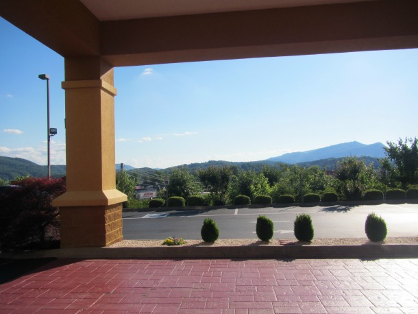 Comfort Suites Pigeon Forge View