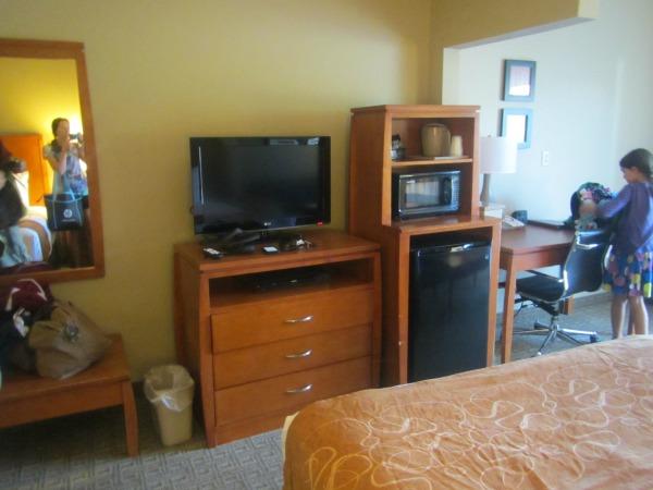 Comfort Suites room features