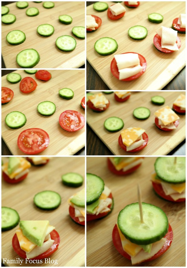 Making Cucumber Sandwiches