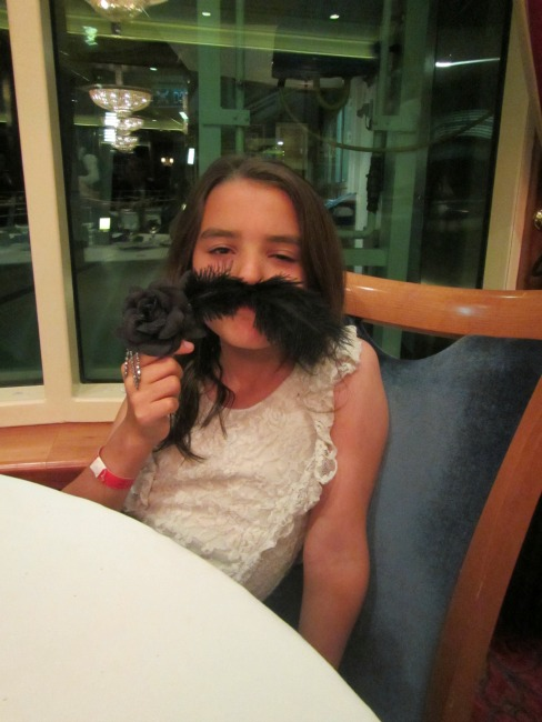 Feather Mustache