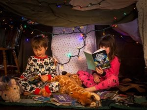 Imaginary Friends-Children Reading