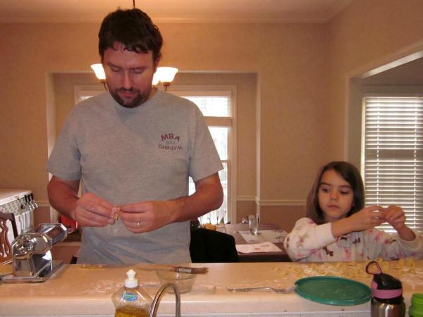 Making Tortellini